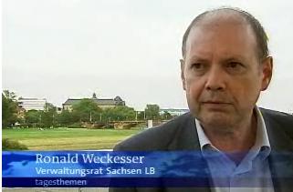 Ronald Weckesser, Tagesthemen 27.08.2007