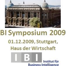 BI Symposium 2009