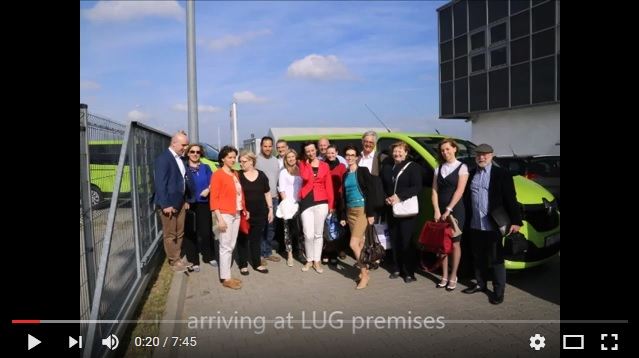 International Work Group at LUG Light Factory in Zielona Gora, Poland